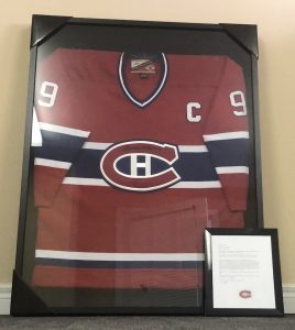 Maurice Richard - Rocket Richard Signed Jersey