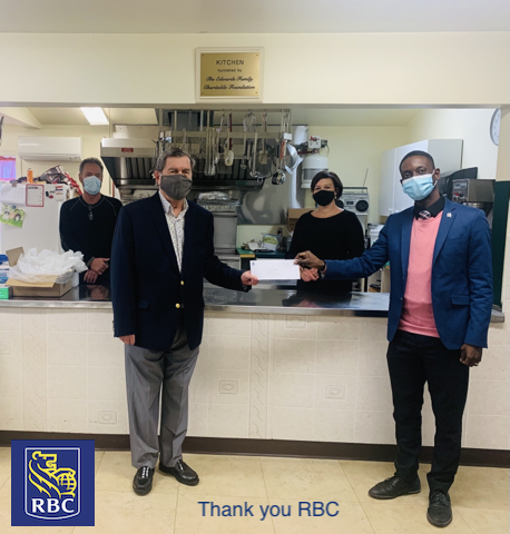 RBC Donation to Hope Cottage